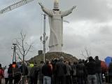 10.11.2010. Ārvalstīs- Polijā pasaulē lielākā Jēzus Kristus statuja