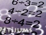 """""""2х2=4"""" vai """"2х2=?"""""""