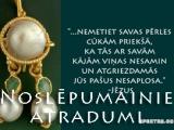 Jeruzālemē atrasta pērle no Jēzus laika