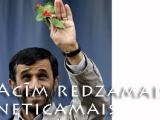 """Irānas prezidents:""""Novēlu visiem kristiešiem laimi un pilnību"""""""