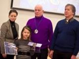"""19.01.2012. Ceļvedis labklājībā: kosmosā """"Galileo"""" programmas satelīts par godu deviņgadīgajai LIENEI no Smiltenes"""