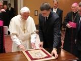 20.06.2012. Ārvalstīs: Ministru prezidents Valdis Dombrovskis ticies ar Romas pāvestu