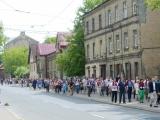 """02.07.2012. Latvija: Norisinājies """"Dzīvo gājiens"""", lai pieminētu holokaustā nogalināto ebreju piemiņu"""