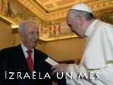 Vizītē Vatikānā Peress aicina pāvestu Francisku apmeklēt Izraēlu