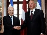 29.07.2013. Latvija: Izraēlas prezidenta Peresa vizīte Latvijā