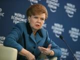 Vīķe-Freiberga: Starptautisko reakciju par Krievijas rīcību Ukrainā nosauca par gļēvu, kas viņai ir pretīga.