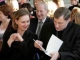27.03.2014. Zbigņevs Stankevičs un tieslietu ministre Baiba Broka vienojas, ka ģimenei jābūt mūsdienu sabiedrības pamatvērtībai