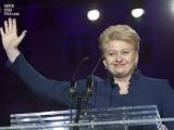 31.03.2014. Nacionālā identitāte / Lietuvas prezidente: jānostiprina savs aizsardzības potenciāls arī informācijas laukā