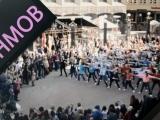 Pateicas Dievam par norisēm Rīgas Sporta nakts Flashmobā 2014