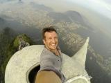04.06.2014: Pie Kristus Pestītāja statujas Rio tapis pasaulslavens selfijs