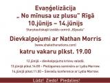 """11.06.2014. """"No mīnusa uz plusu"""" ar Nathan Moriss"""