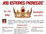 """Ventspilī norisināsies starptautiskā konference """"Karaliskas attiecības jeb Esteres pieredze"""""""