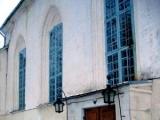 Straupes baznīcas vitrāžas ar nacionālu simboliku