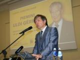 Par Uldi Ģērmani mācītājs Guntis Kalme: latviešiem pieder brīvības alku, pretošanās un UZVARU  vēsture!