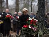 Ebreju geto ieslodzīto iznīcināšanas piemiņai/Saeimas priekšsēdētāja Ināra Mūrniece: Līdz pat šodienai neaptverams ir lielākais genocīda noziegums Latvijā