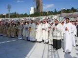 Pāvesta Franciska vizīte Gruzijā: Ģimene ir lielākais Dieva radītais brīnums