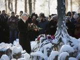 Saeimas priekšsēdētāja Rumbulas memoriālā: holokausta upuru piemiņa Latvijā vienmēr būs dzīva