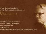Norisināsies Dr theol R.Feldmaņa autobiogrāfijas un dzejoļu krājuma atvēršana