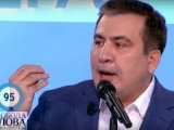 """Gruzijas prezidents Mihails Saakašvili aicina neuzstādīt biotualetes un teltis """"Normandijas četrinieka"""" tikšanās laikā, bet lūgt Dievu"""